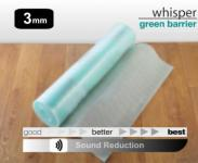 Floorwise Whisper Green Barrier Laminate Underlay